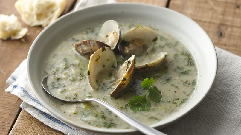 Spanish Green Clam Soup