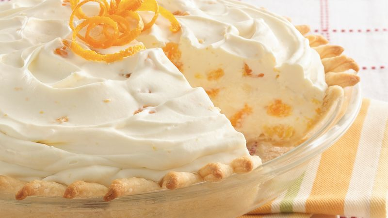 Orange Mousse Pie