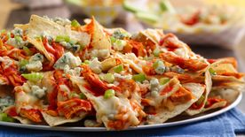 Buffalo Chicken Nachos Grande