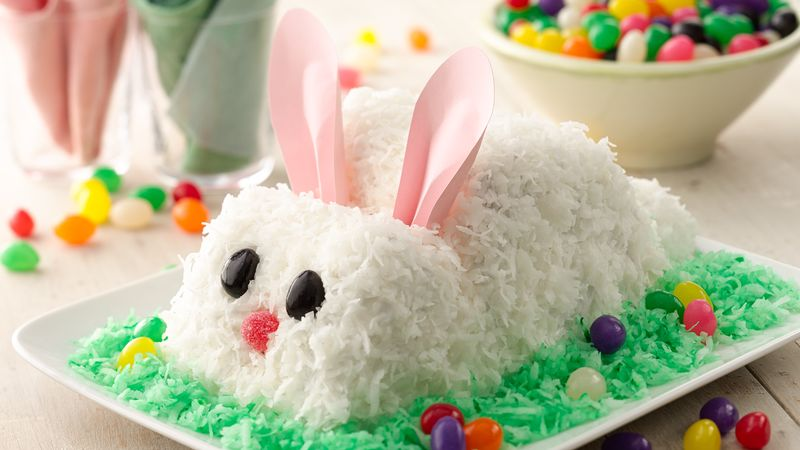 Easter Bunny Cake Recipe Bettycrocker Com