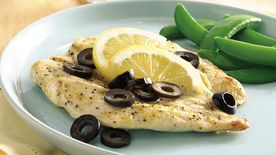Lemon Chicken with Olives