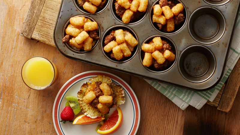 Muffin-Tin Tater Tot™ Breakfast Cups