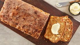 Rhubarb Apple Bread