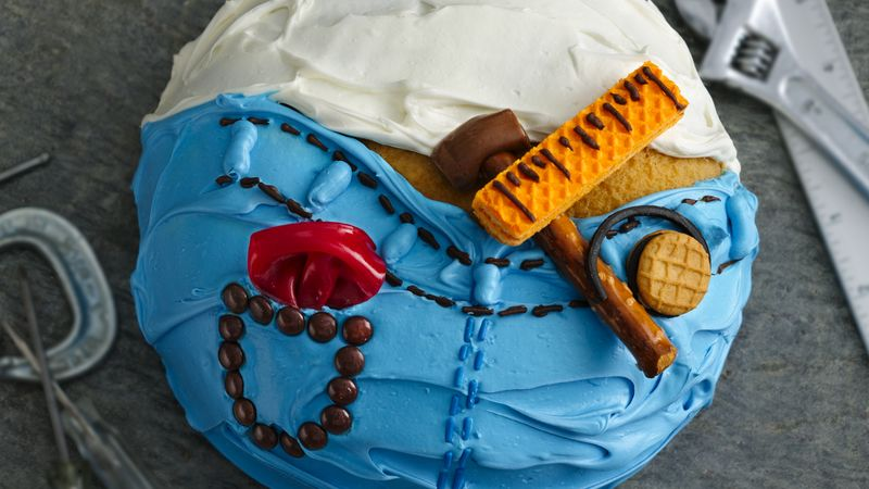 Do It Yourself Dad Cake