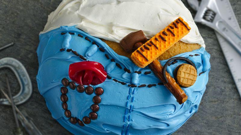 Admirable Do It Yourself Dad Cake Recipe Bettycrocker Com Funny Birthday Cards Online Bapapcheapnameinfo