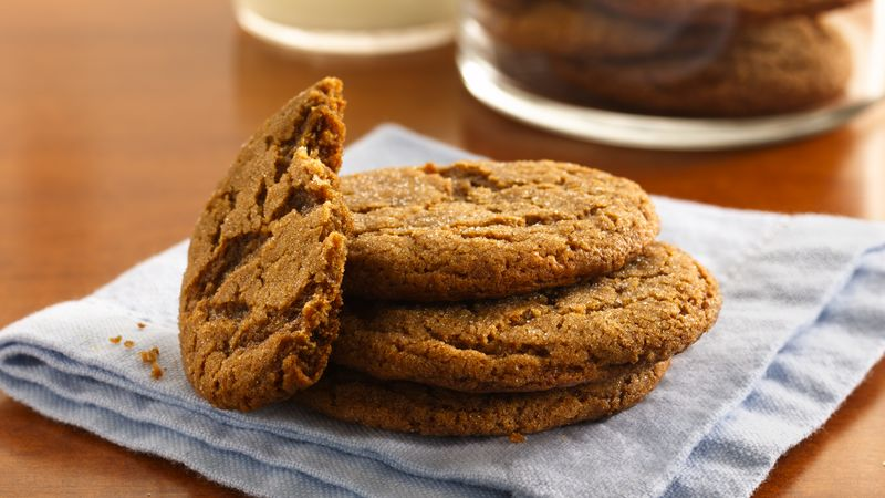 Molasses Crinkles Recipe Bettycrocker Com