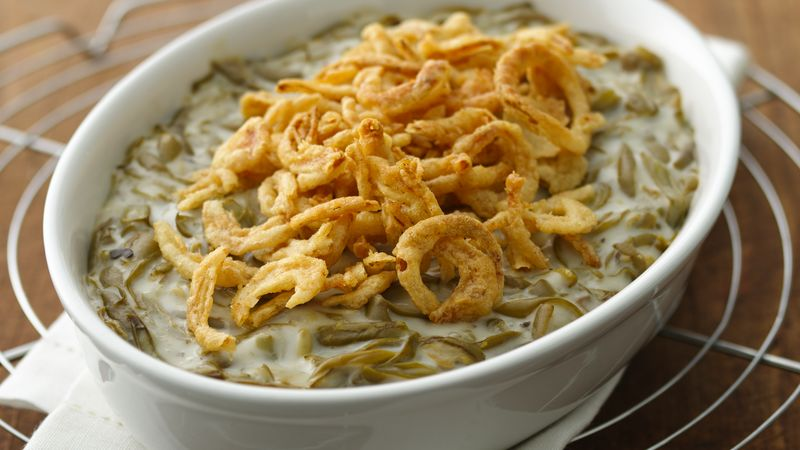 Easy green bean casserole recipe pillsbury easy green bean casserole forumfinder