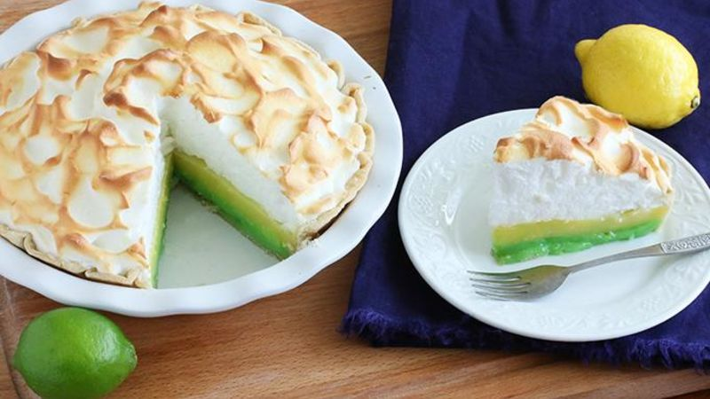 Lemon-Lime Meringue Pie Recipe - Tablespoon.com