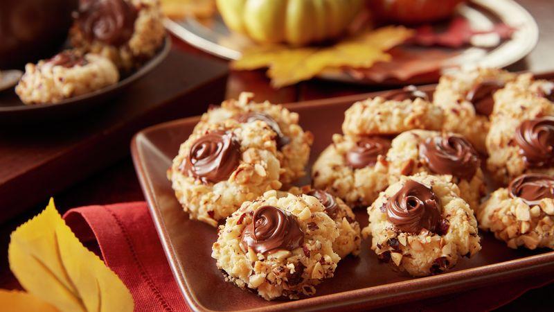 Nutella® Thumbprint Cookies