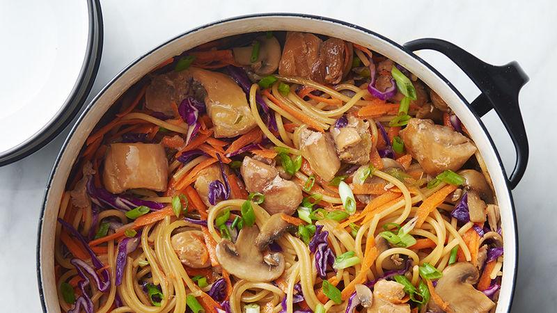 One Pot Chicken Lo Mein