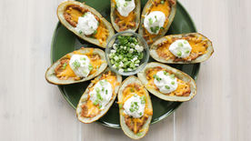 Protein-Packed Potato Skins
