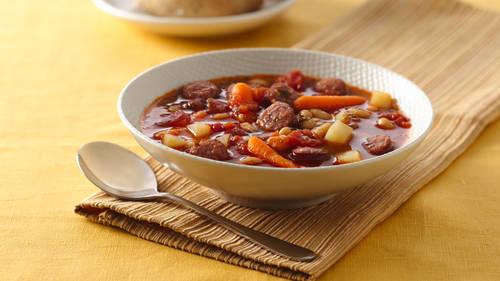 German dinner recipes bettycrocker bratwurst and vegetable soup forumfinder Gallery