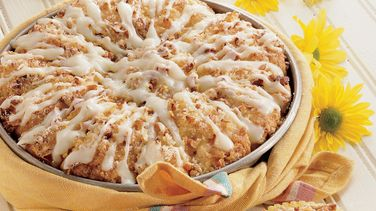 Lemon-Pecan Sunburst Coffee Cake