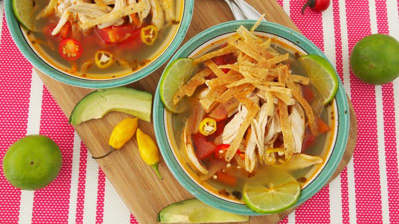 Yucatan Chicken Lime Soup