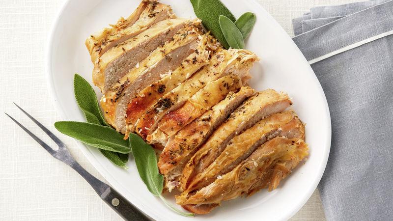 Slow-Cooker Herbed Turkey Breast