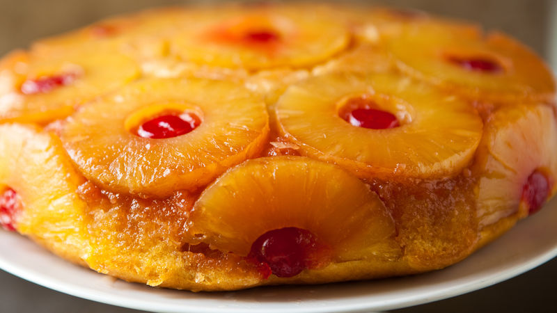 Pineapple Upside Down Skillet Cake Recipe Bettycrocker