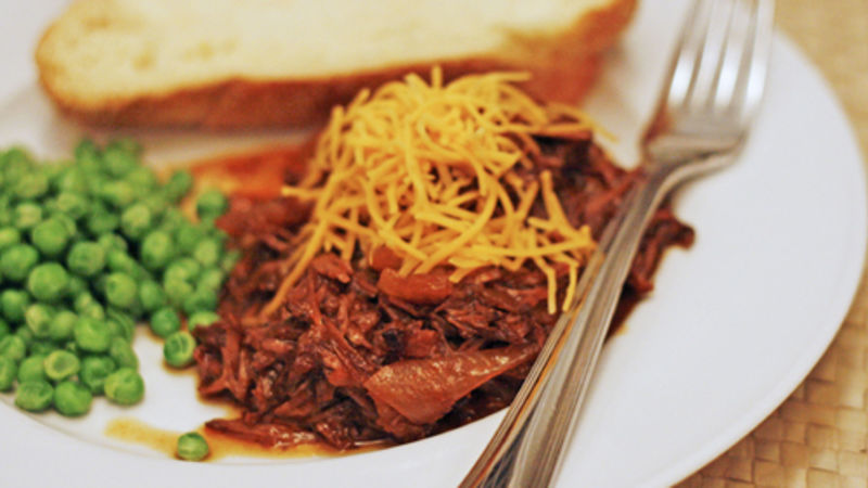 Honey Chipotle Barbecue Shredded Beef