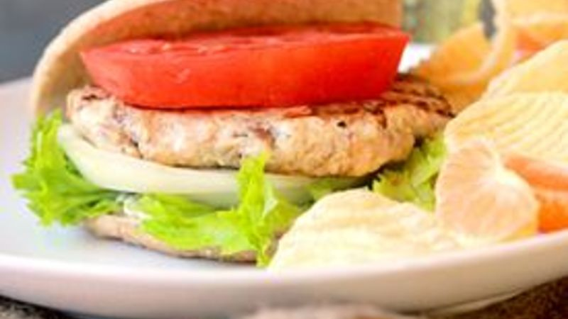 Turkey Burgers That Don't Suck
