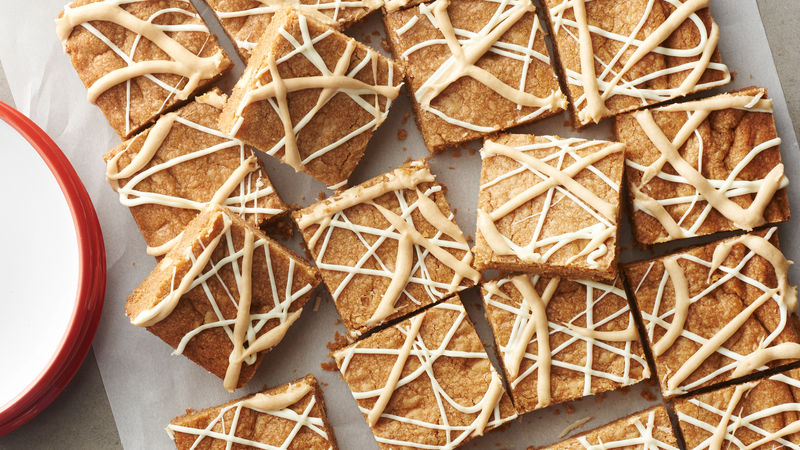 Spiced Cookie Butter Bars
