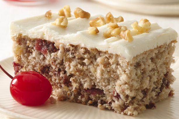 Walnut cherry cake recipe