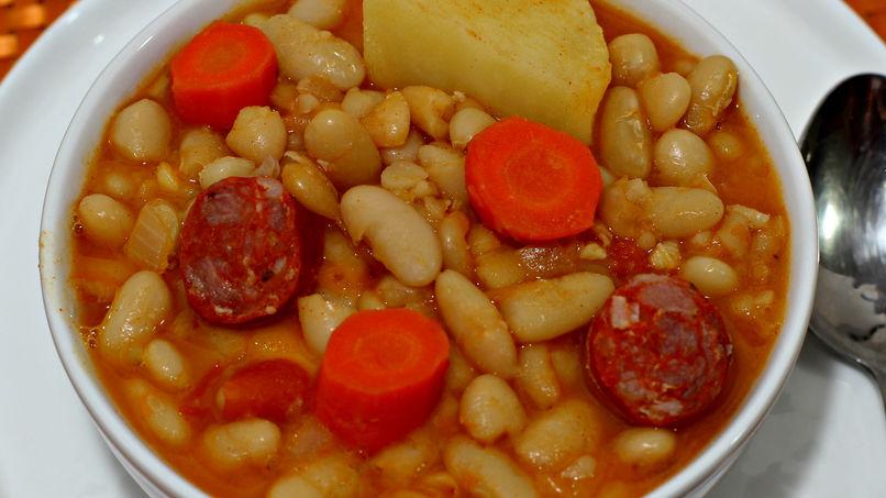 White Beans with Chorizo
