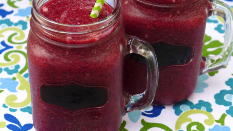 Strawberry and Beet Smoothie