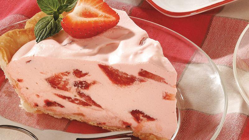 Strawberry Fluff Pie Recipe Tablespoon Com