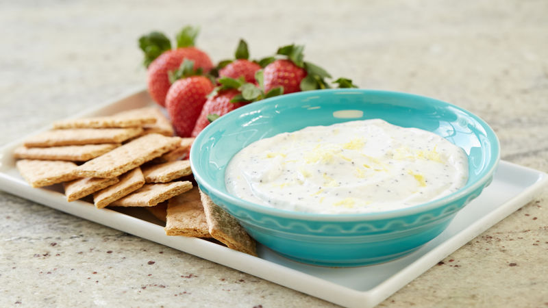 Lemon Poppy Seed Dip