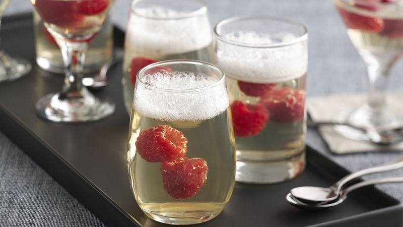 Jelled Champagne Dessert