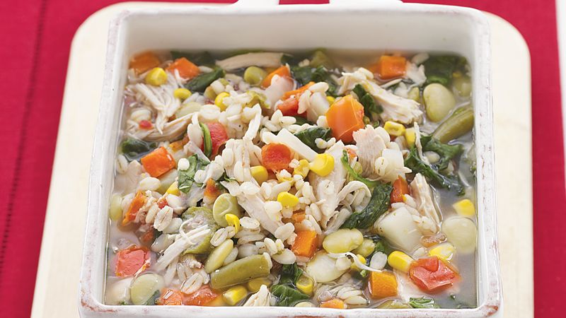 Chicken-Vegetable-Barley Soup