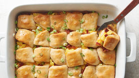 Bacon, Egg and Cheese Biscuit Slider Bake