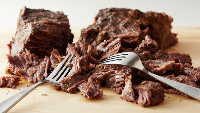Slow-Cooker Make-Ahead Beef