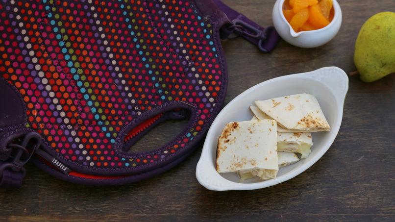 Quesadillas Mexicanas en Cuadritos para la Lonchera