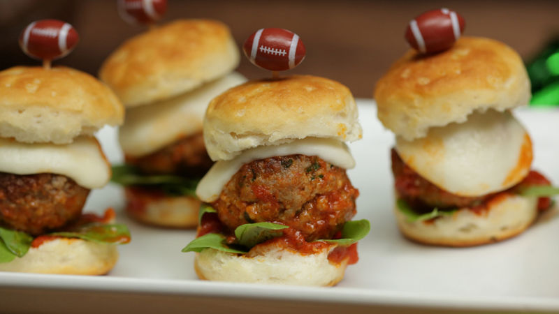 Italian Meatball Sliders