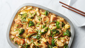 One-Pot Chicken Pad See Ew