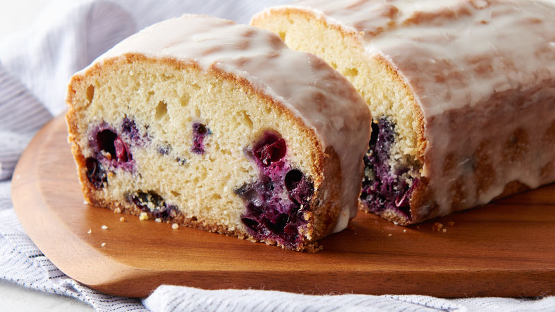 Secret Ingredient Lemon Blueberry Pound Cake Recipe Pillsbury Com