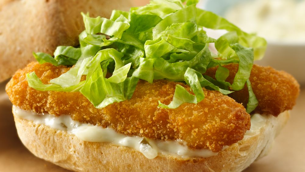 Baked Fish Stick Sandwiches