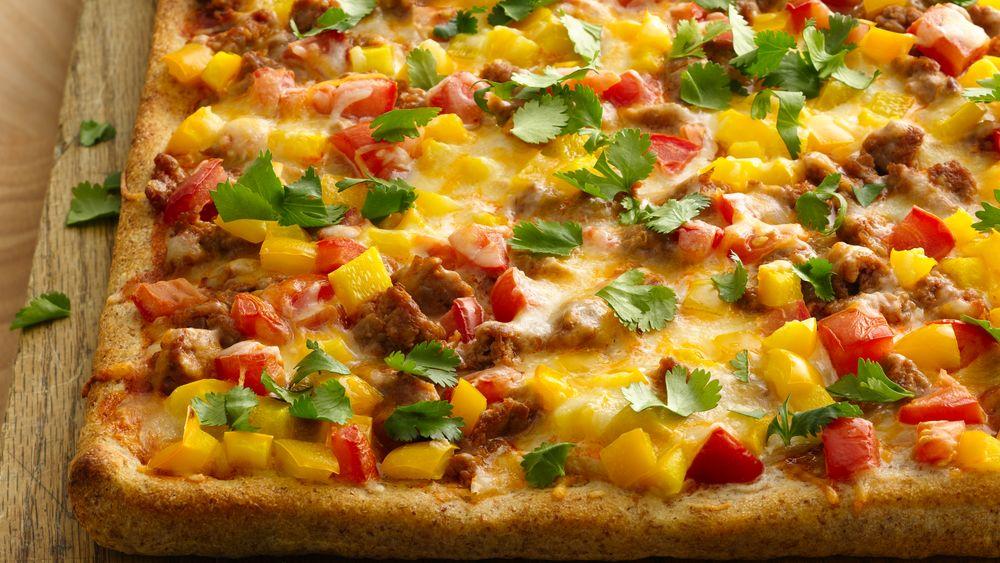 Spicy Taco Pizza