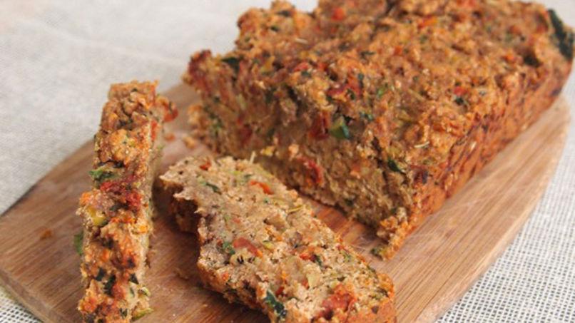 Pan de Calabacín con Tomate Seco