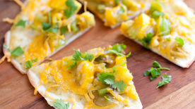 Summer Vegetable Tostadas