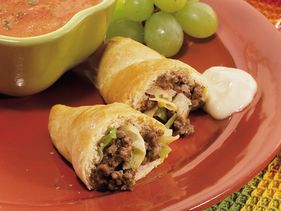 Crescent Cabbage and Beef Bundles