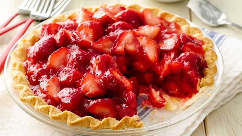 Fresh Strawberry Pie Recipe Pillsbury Com