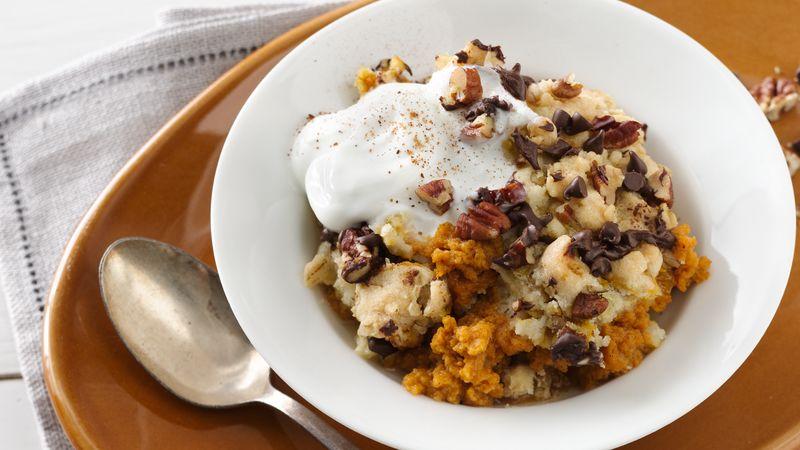 Pumpkin and Sweet Potato Breakfast Bake