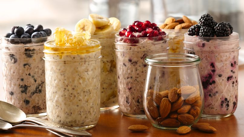 """""""Superpower"""" Overnight Oatmeal"""