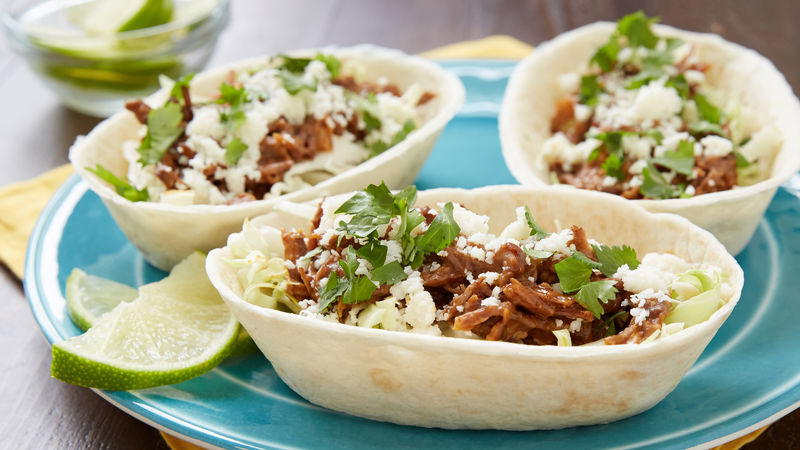 Slow-Cooker Mexican Beef Short Rib Taco Bowls
