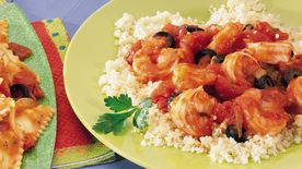 Fresh Shrimp with Couscous