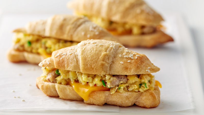 Sausage and Egg Grands!™ Crescent Sandwiches