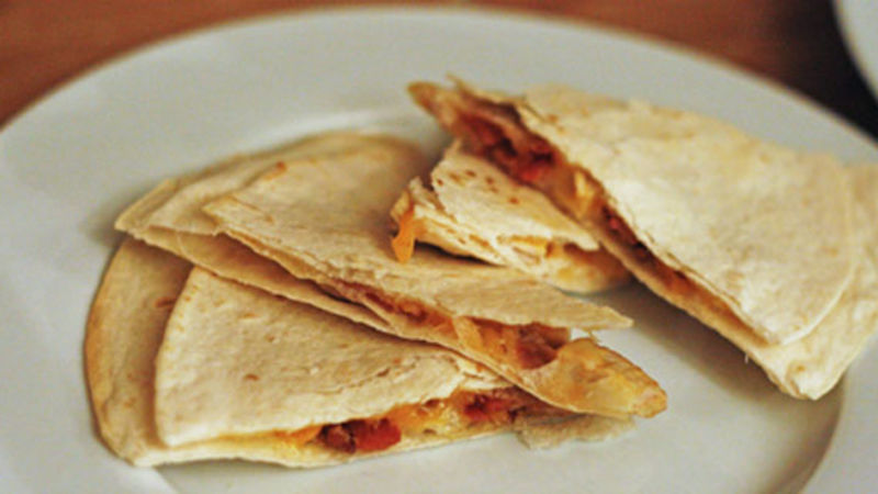 Baked Turkey Quesadilla