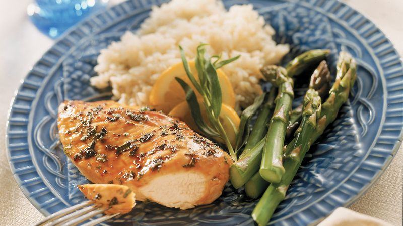 Grilled Honey-Tarragon Chicken
