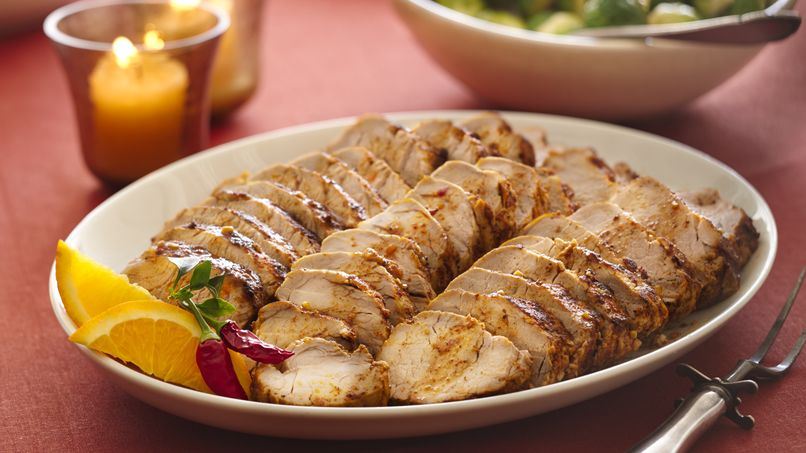 Ancho Chile Rubbed Pork Tenderloin Roast